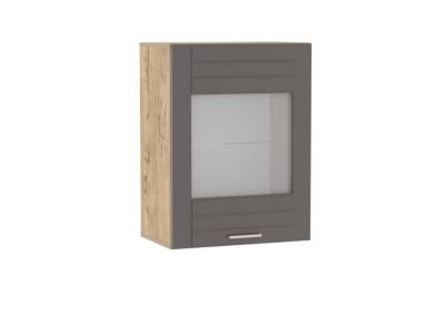 Шкаф навесной НМ 011.30-01 LIVORNO (Дуб Бунратти/Софт Графит)