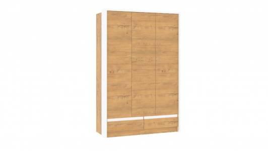 Шкаф комбинированный НМ 011.50 VIRGINIA (Дуб Бунратти/Белый Скандинавский)