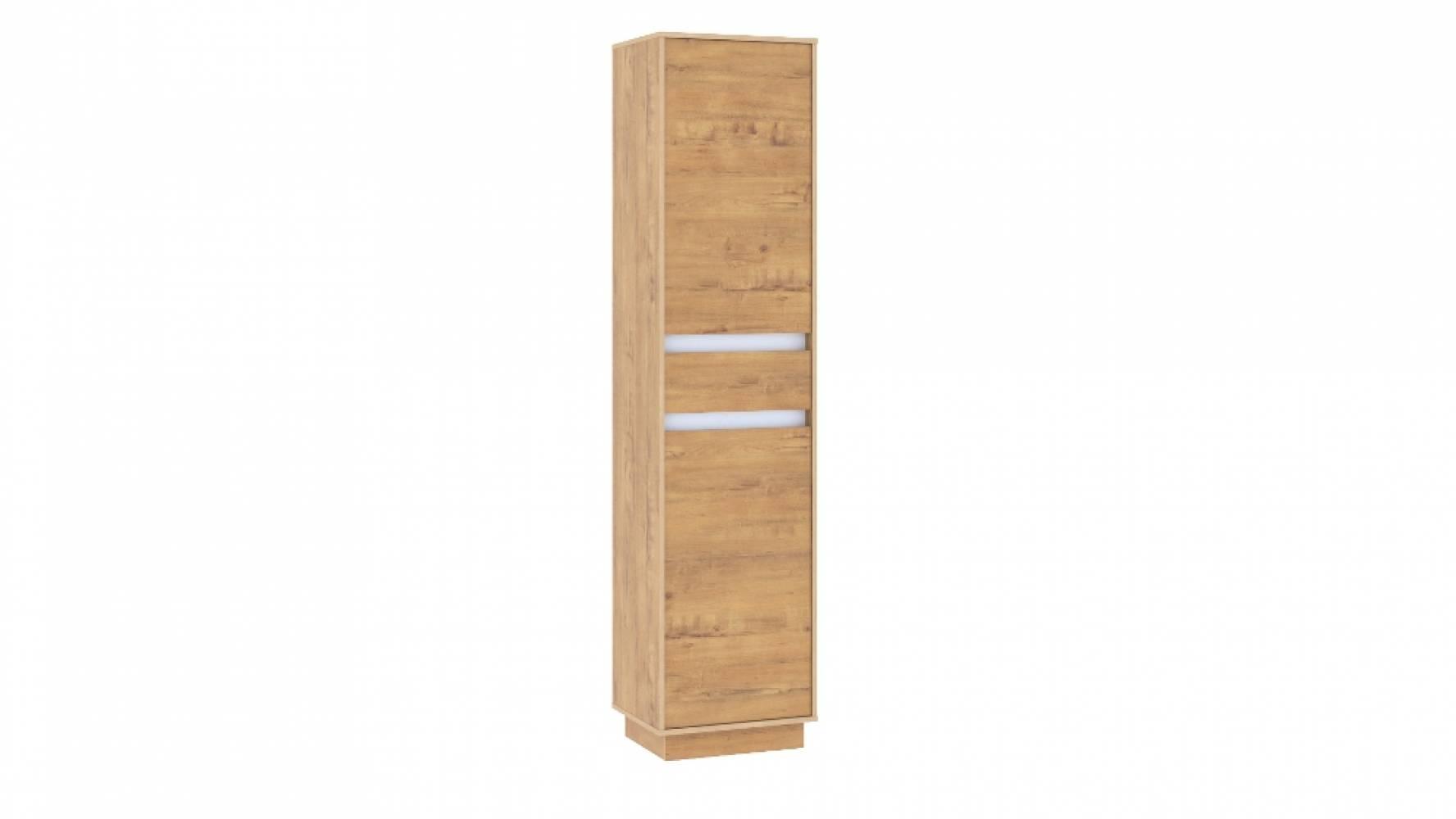 Шкаф для одежды НМ 011.81 VIRGINIA (Дуб Бунратти/Белый Скандинавский)
