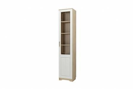 Шкаф-витрина для посуды правый НМ 040.43 М ОЛИВИЯ (Дуб Сонома)