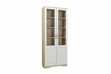 Шкаф-витрина комбинированный НМ 040.62 М ОЛИВИЯ (Дуб Сонома)