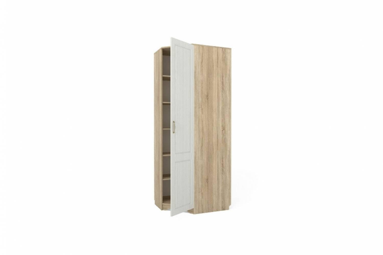 Шкаф угловой правый НМ 014.11 ОЛИВИЯ (Дуб Сонома)