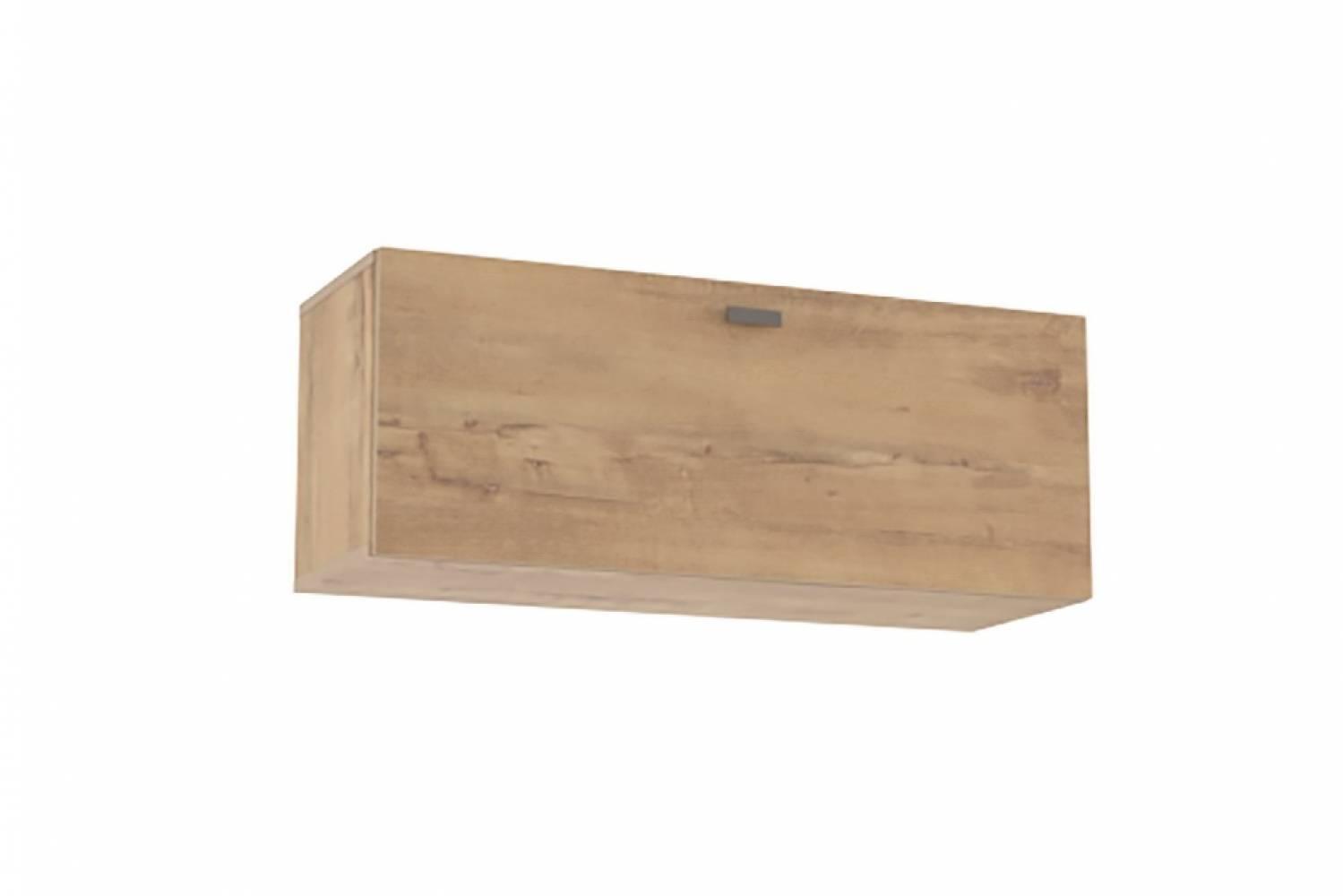 Шкаф навесной (открывание вниз) НМ 014.21-01 SNOW WOOD (Дуб Бунратти)