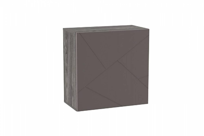 Шкаф НМ 014.53-01 SUMMIT (Ясень Анкор темный/Софт Графит)