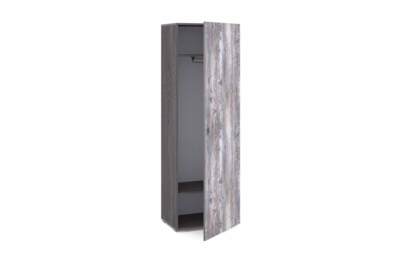 Шкаф для одежды НМ 011.18 URBAN (Ясень Анкор темный/Бетон Пайн темный)