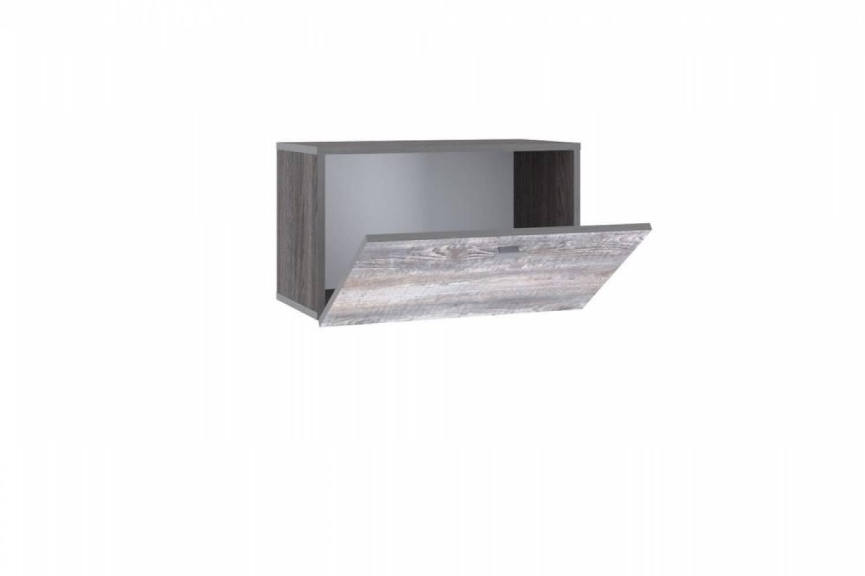 Шкаф навесной (открывание вниз) НМ 014.21-02 URBAN (Ясень Анкор темный/Бетон Пайн темный)