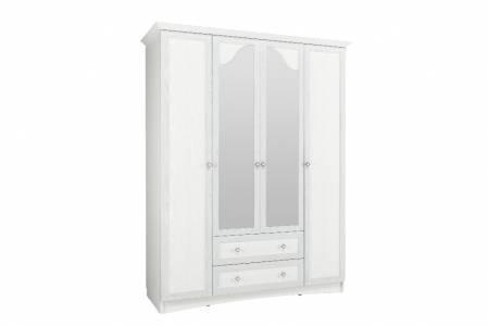 Шкаф комбинированный с зеркалом НМ 009.25 М1 ПРОВАНС