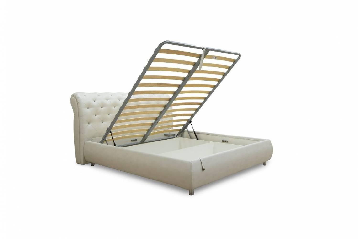 Кровать 1800 с подъемным механизмом ЭМИЛИ (Меркури милк)