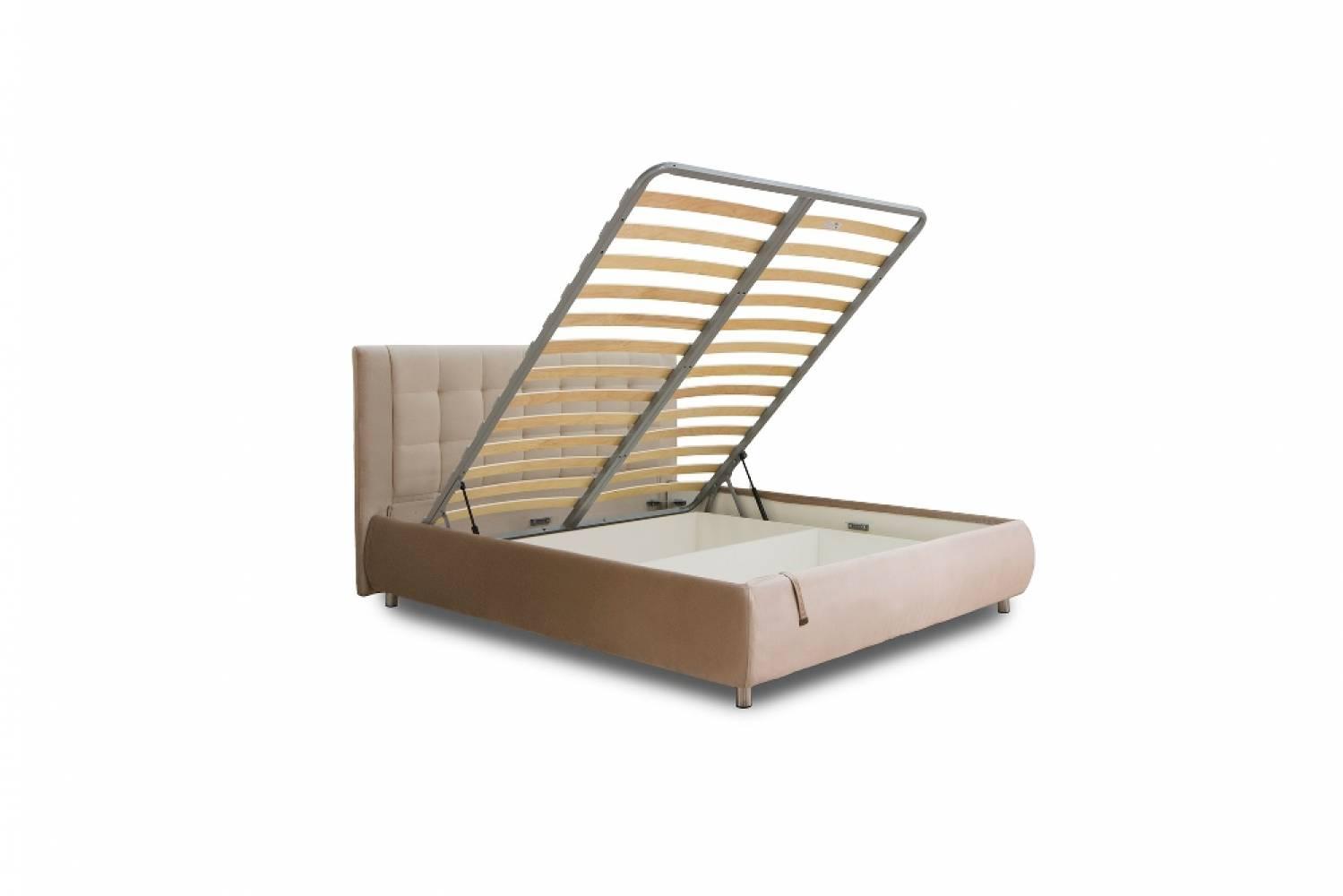 Кровать 1400 с подъемным механизмом НИКА (Фиора беж)