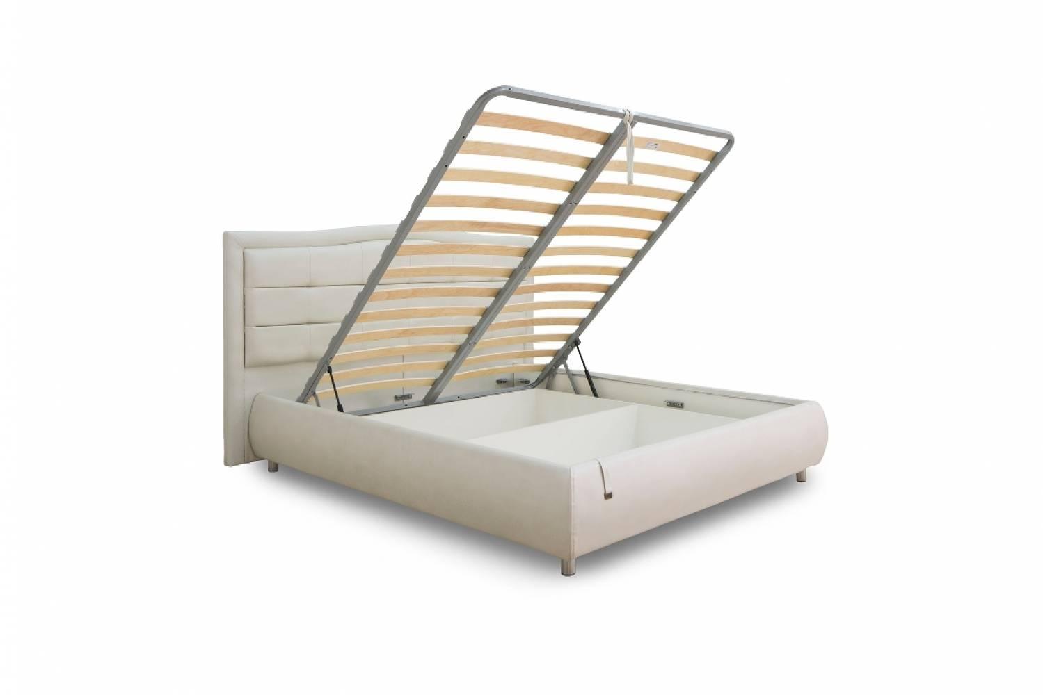 Ящик к кровати 1800 с подъемным механизмом КАРОЛИНА (Меркури милк)