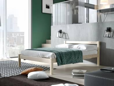 Кровать 1200 РИНО (Массив сосны)