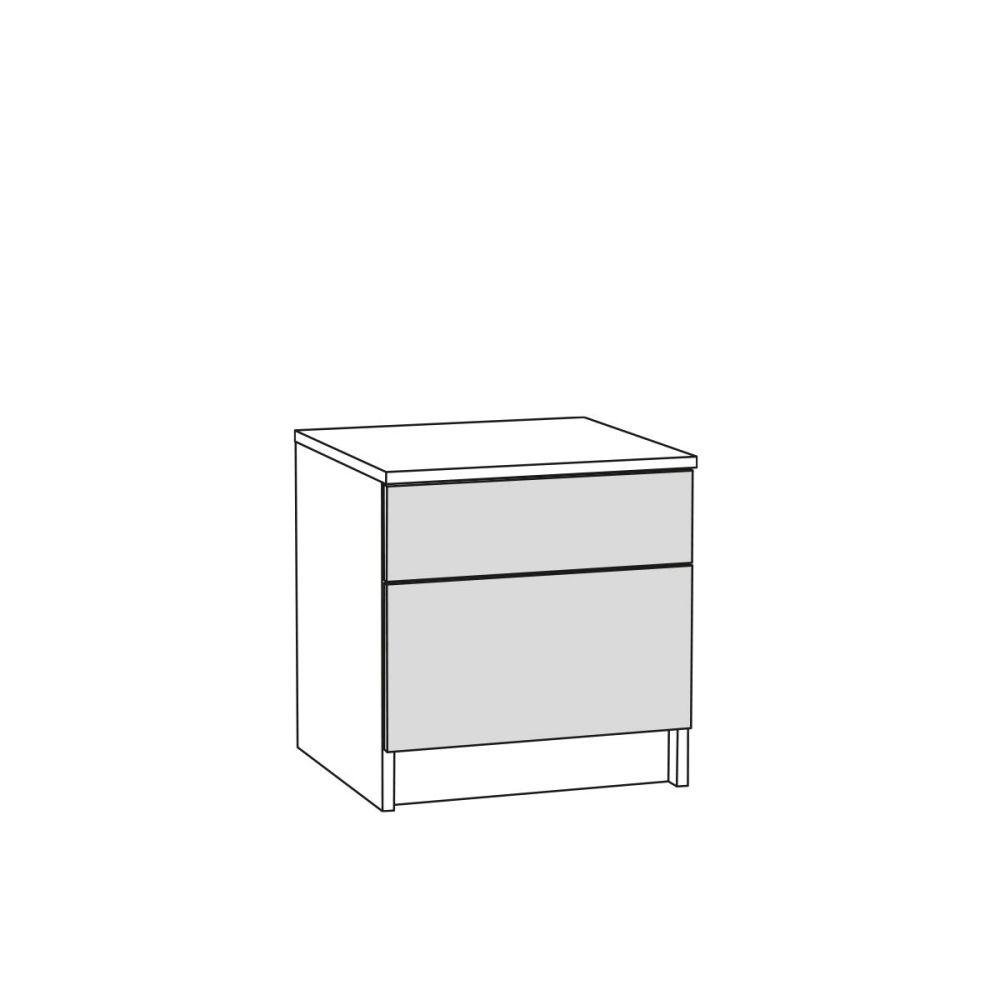Тумба прикроватная 13.88 МАДЭРА (Венге Каштан)