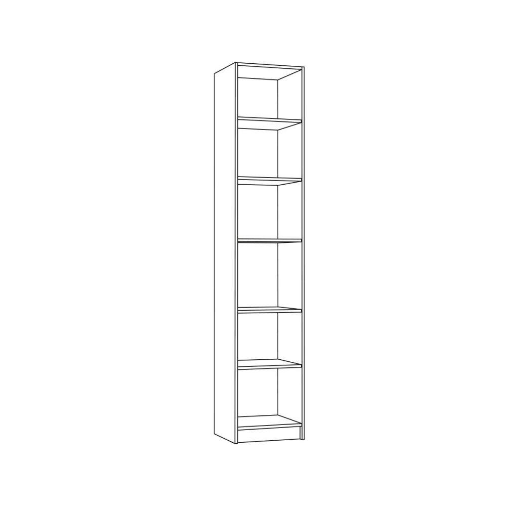 Шкаф 13.37 МАДЭРА (Венге Каштан)