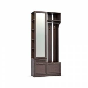 Шкаф комбинированный 10.15 МАДЭРА (Венге Каштан)