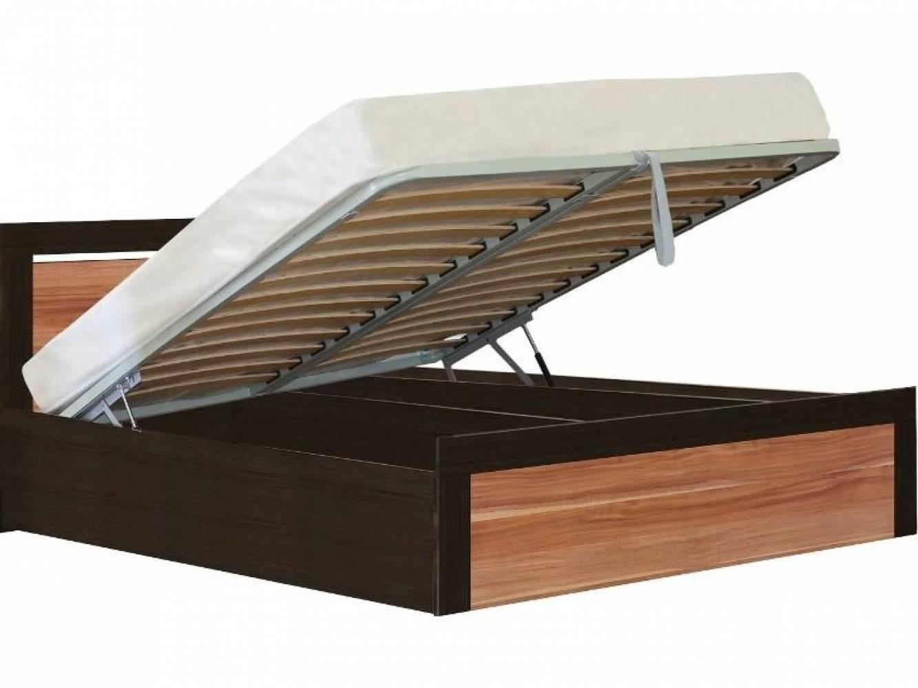 Кровать 1600 с подъемным механизмом ТОКИО (слива валлис)