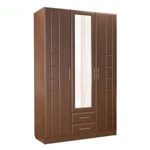 Шкаф 3-дверный ПАЛЕРМО (венге дуглас)