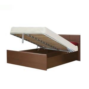 Кровать 1400 с подъемным механизмом ПАЛЕРМО (венге дуглас)