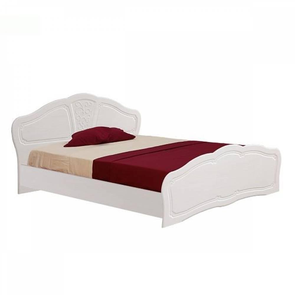 Кровать №2 1400 ТИФФАНИ (рельеф пастель)