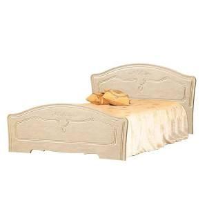 Кровать №1 1600 ЛИРА (жемчуг глянец)
