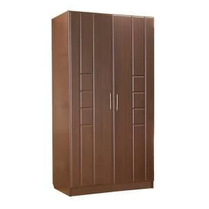 Шкаф 2-дверный ПАЛЕРМО (венге дуглас)