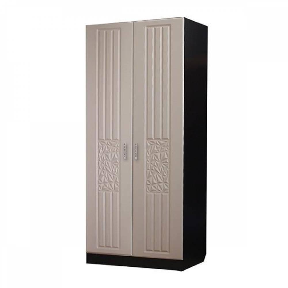 Шкаф 2-дверный РОБЕРТА (пастель мокко)