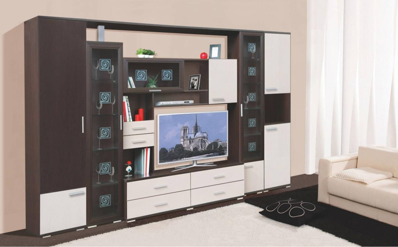 Гостиная СТАТУС (Бодега) Союз-Мебель