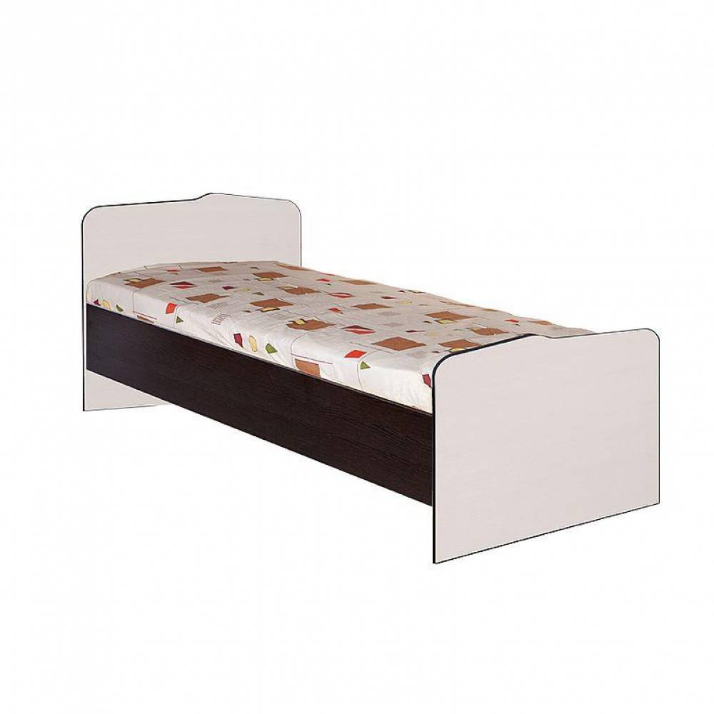 Кровать 800 № 22 с основанием СТАТУС (Бодега)