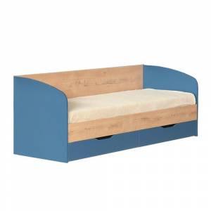 Кровать 800 № 13 с основанием КОСМОС (альпийское  озеро)