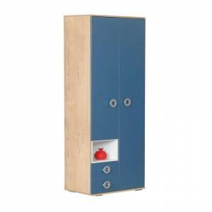 Шкаф 2-дверный № 4 КОСМОС (альпийское  озеро)