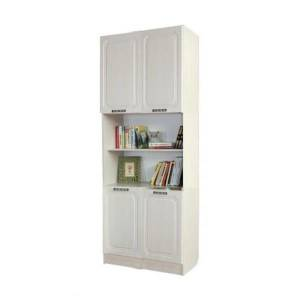 Шкаф книжный ТИФФАНИ (рельеф пастель)