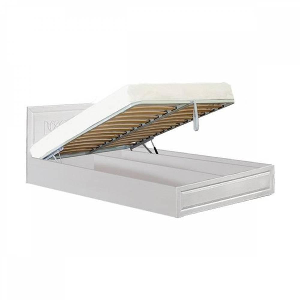 Кровать 1400 №1 с подъемным механизмом АЭЛИТА (рельеф пастель)