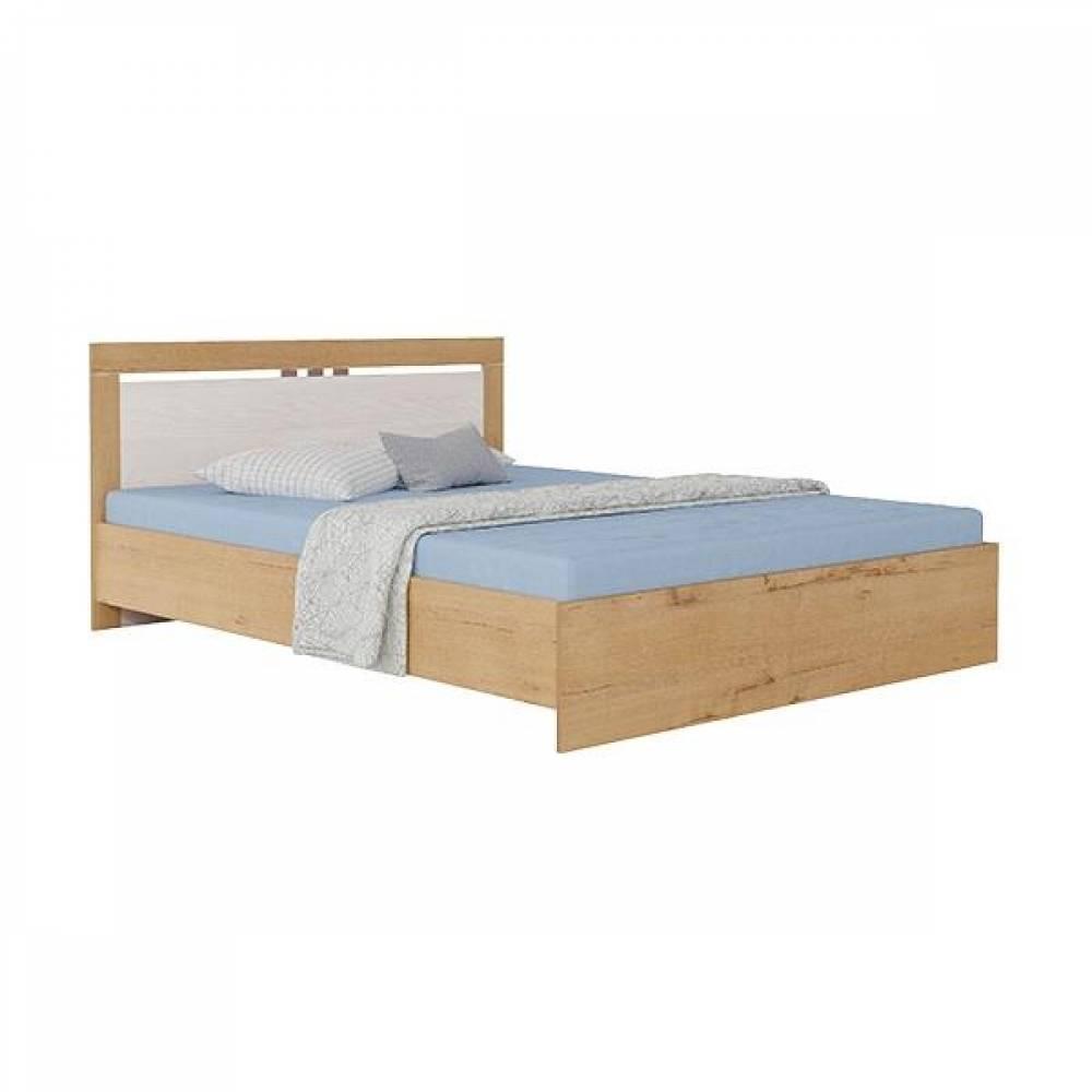 Кровать 1400 №1 с основанием СВЕТЛАНА (бодега)